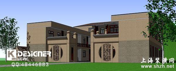 建筑设计-北京四合院-2010|中式|别墅/复式装修