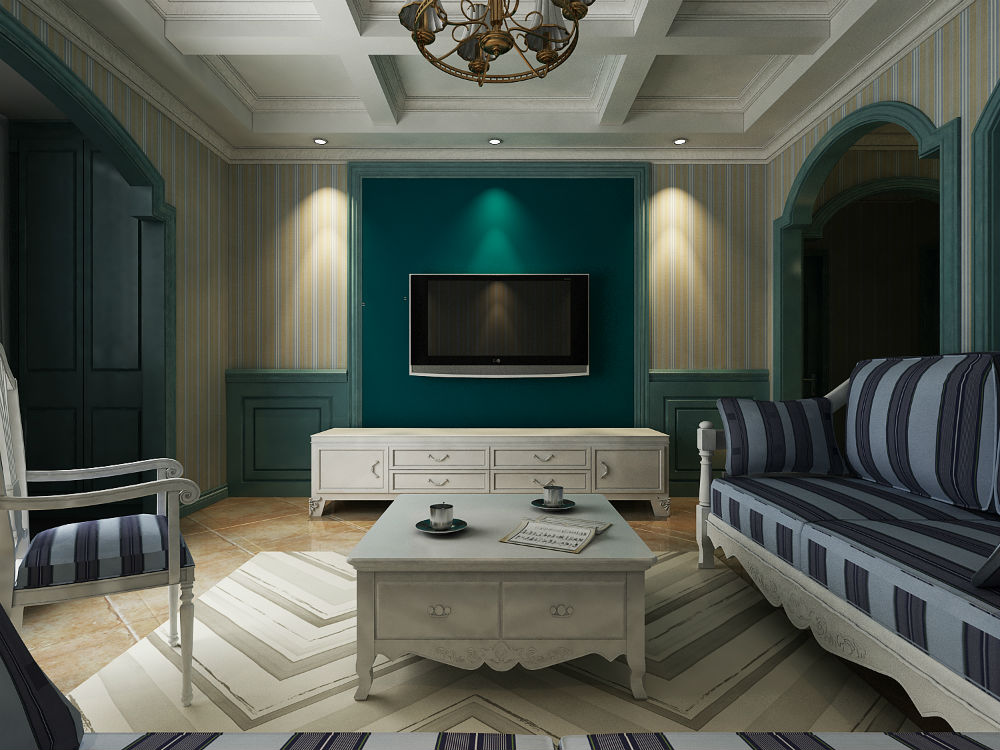 A01.地中海风格两室一厅一厨一卫