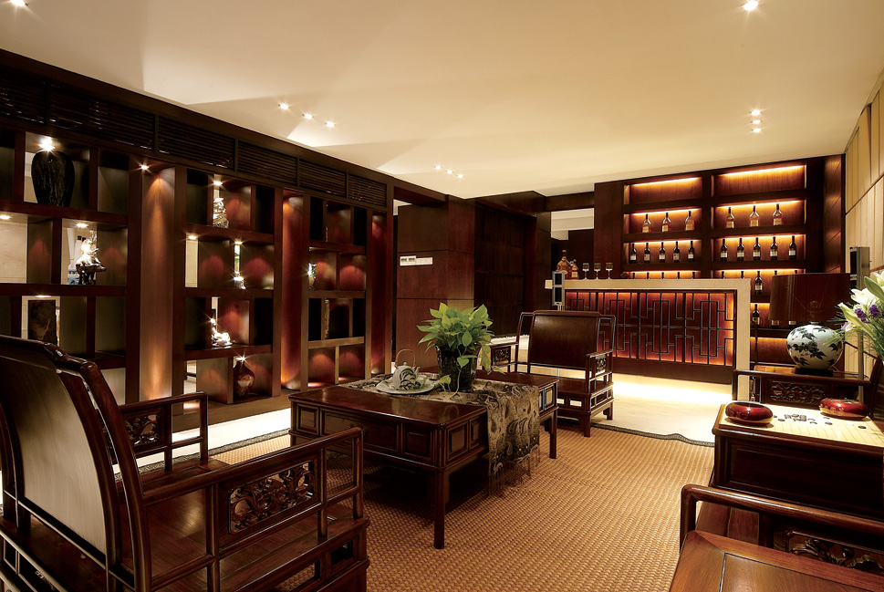 装饰柜,典型的中式实木橱柜图片