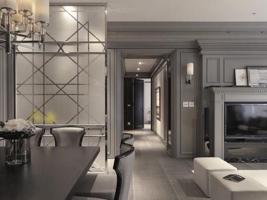 小户型现代简约客厅 让黑白灰精彩你的家