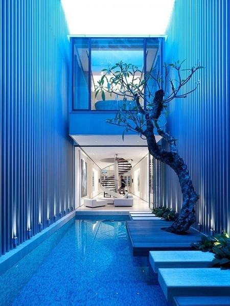 创意别墅庭院设计 室内室外融合的享受