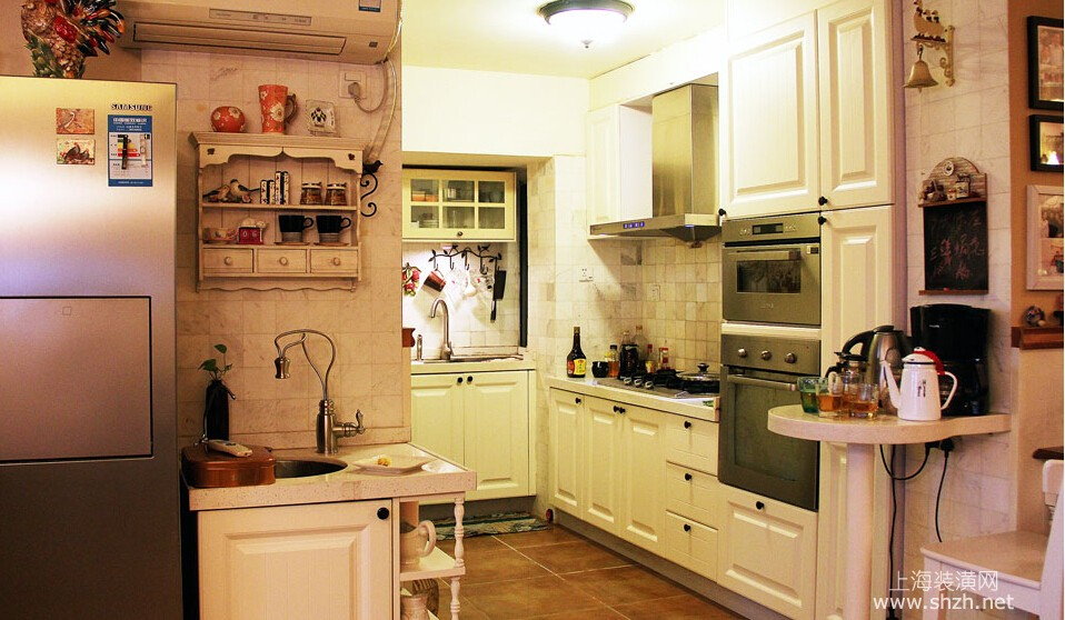 厨房装修的收纳技巧-上海装潢网