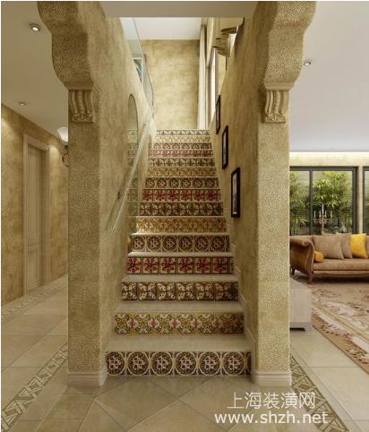 2015年别墅装修 让楼梯为家庭装修锦上添花