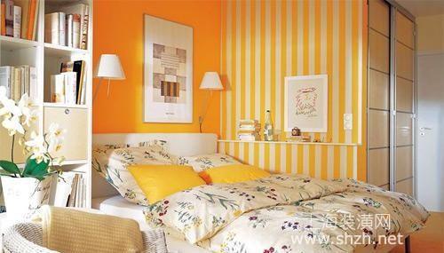 糖果色的卧室设计,睡眠也是甜甜的味道