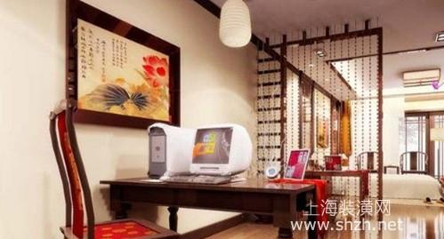 中式书房设计,坐拥书中浓浓古韵情怀图片