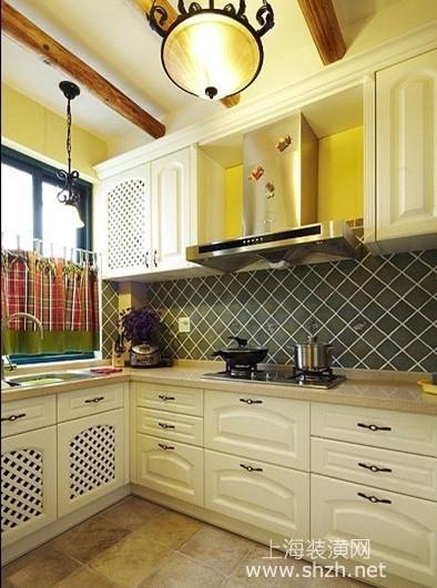 五款地中海风格厨房设计,厨房也要美美哒图片