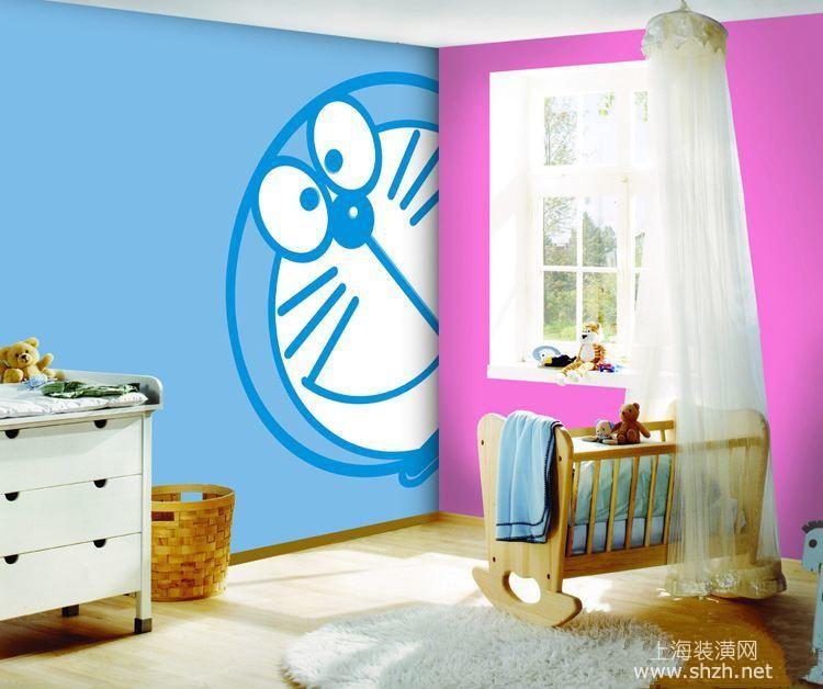 蓝胖子走了 哆啦a梦主题儿童房 伴你成长