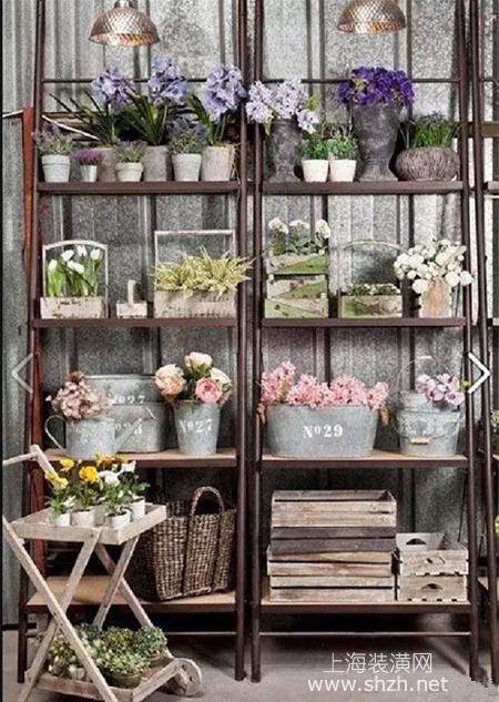 室内设计花架,铁质焊接