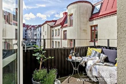 小户型复式公寓设计 镂空楼梯尽显优雅