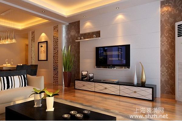 现代简约风格设计说明之电视背景墙装修要点