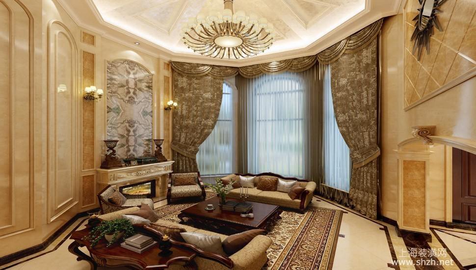 2015年独栋别墅设计 欧式风格奢享品质生活-上海装潢