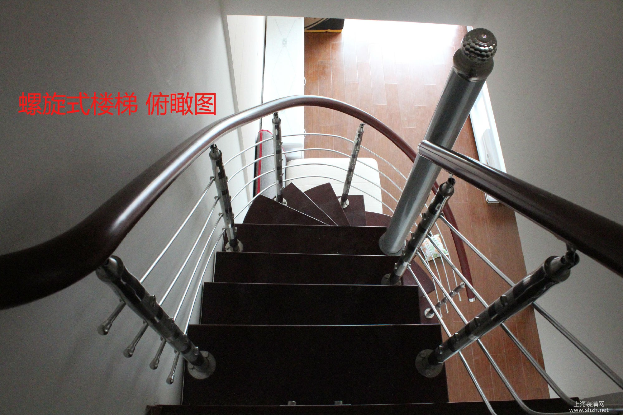 现此楼梯设计不常见