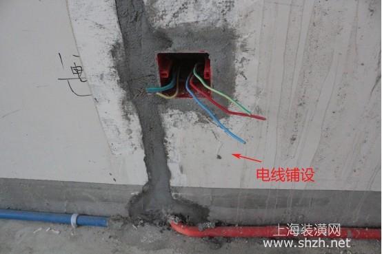 建筑电线的电线该装修可以电气流程是什图纸颜色区分吗铺设打开天正图片