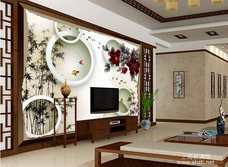 揭秘背景墙装修 2016年客厅电视背景墙五大流行趋势