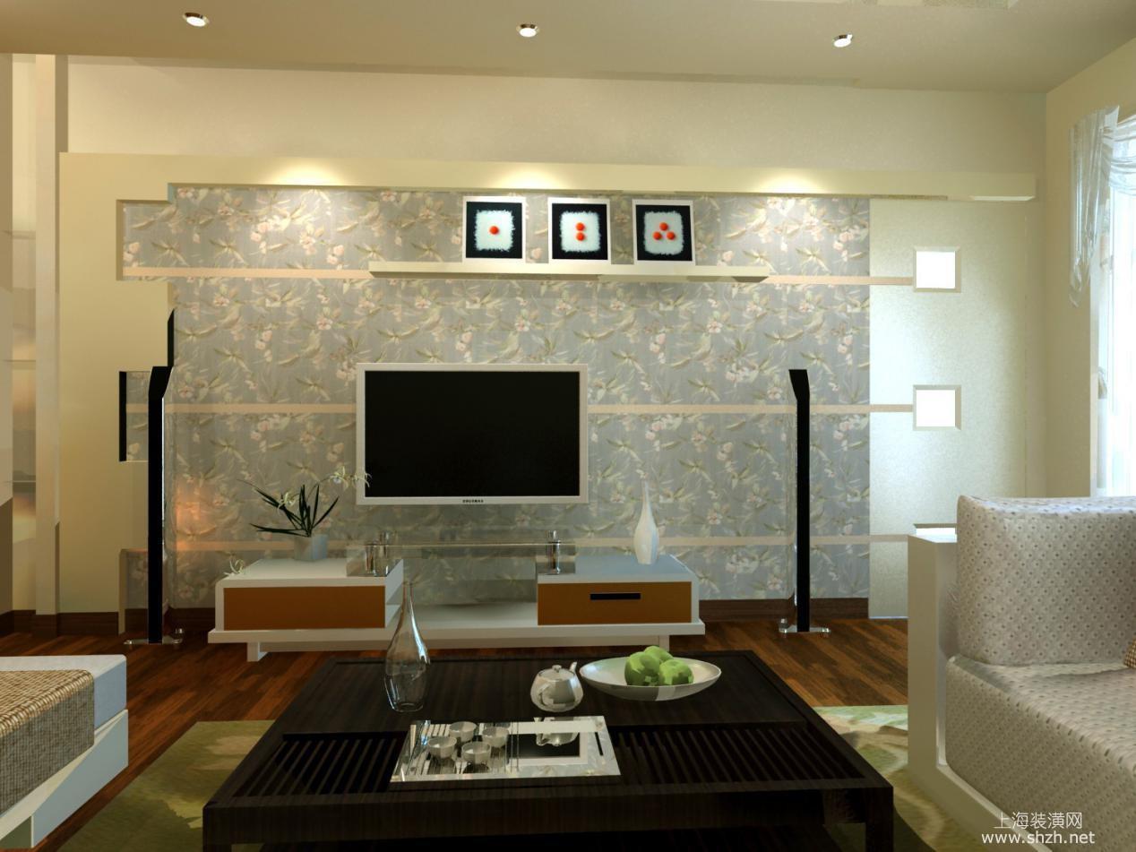 亮点:温馨色彩实体色与碎花墙纸装饰,将此处作为自己的梦想园地,自由设计呈现效果。巧妙应用墙体射灯点缀光影效果。 看完以上2016最新客厅背景墙造型,你有更独特的造型装修效果图吗?可以分享在上海装修网上,和更多的装修业主一起交流哦。更多客厅背景墙装修效果图,尽在装修图库!