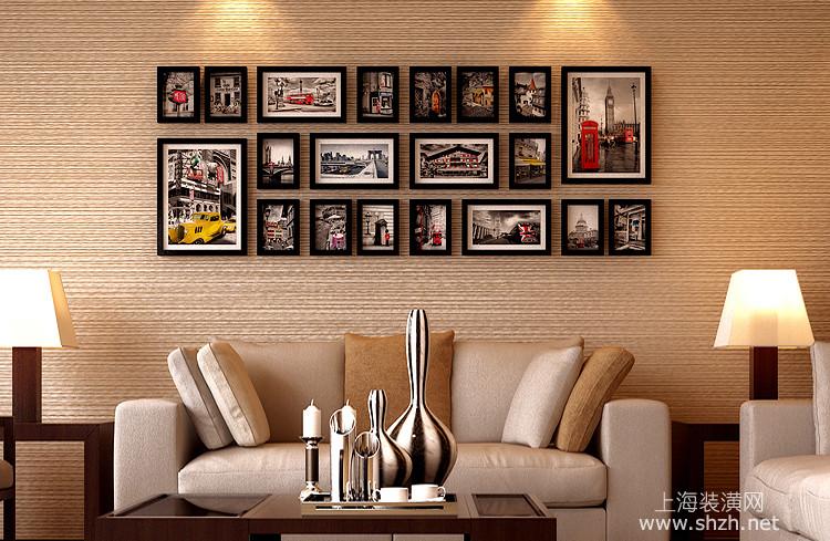 照片墙组合效果 满满的都是回忆图片
