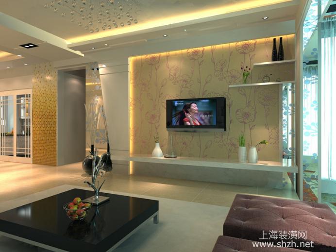 电视背景墙墙纸壁画装饰