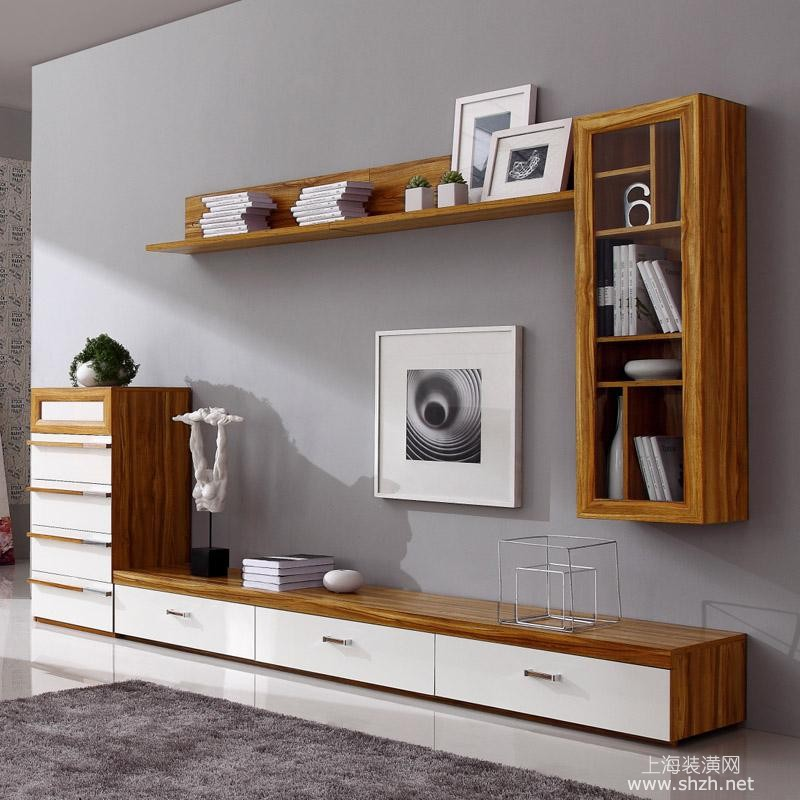 电视组合柜装饰效果 电视机最佳搭配