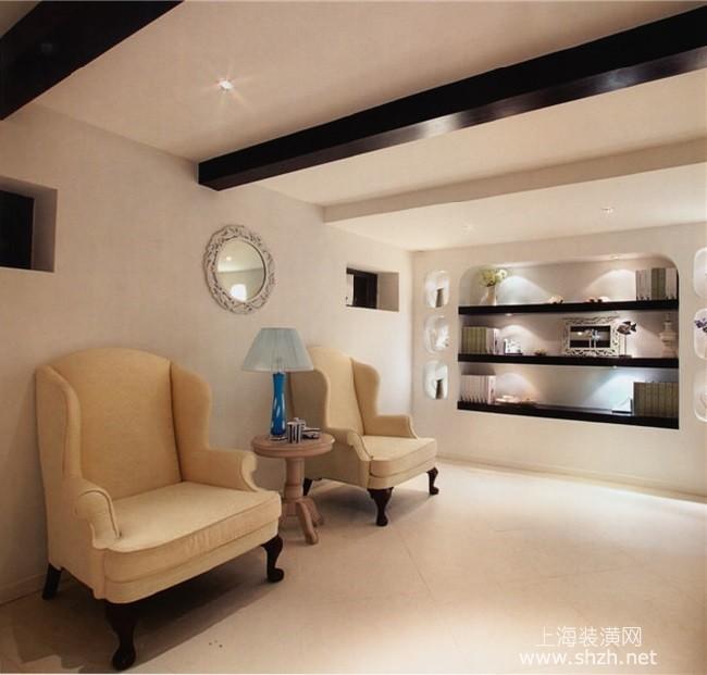 浪漫地中海装修风格效果图 三居室户型设计方案