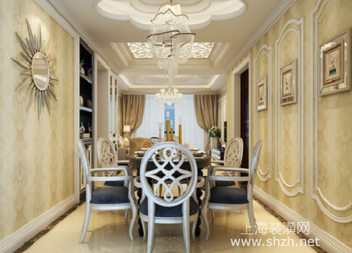 墙面装修如何用石膏线打造的更漂亮一些-上海装潢网