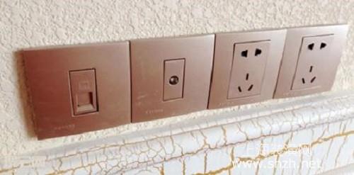 家庭装潢插座接线