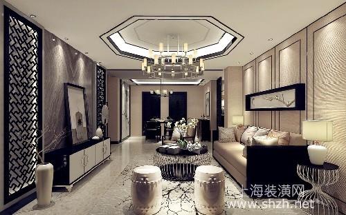 新中式吊顶设计 给你一个别样的客厅