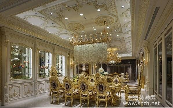 2016年度1650平~99纯金色欧式宫廷奢华风