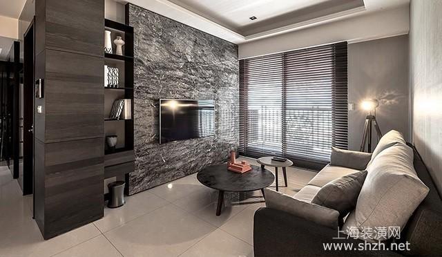 现代简约开放格局空间设计 打造高质感小豪宅