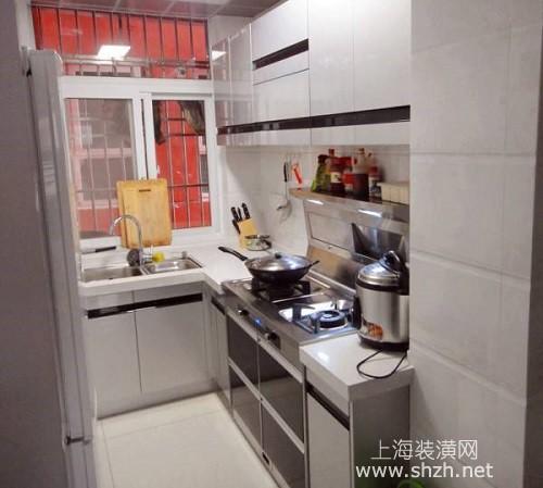 厨房装潢效果图小户型
