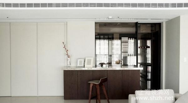 开放式装修设计搭配落地飘窗 打造优雅时尚现代风格生活环境