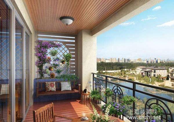 com 装修设计 局部空间 阳台 正文  对于小户型房家庭来说,采用开放式
