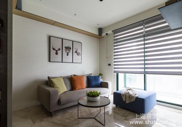 上海60平米小户型装修案例分享:自由设计让老房拥有豪宅质感