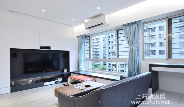 上海小户型装修案例分享:60平米房化身超级收纳乐园