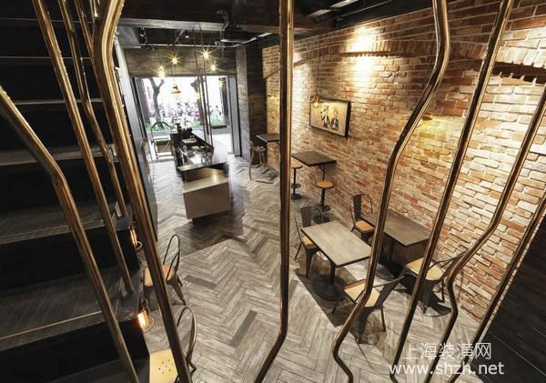 英伦复古工业风格餐厅装修利来国际真人,时尚前卫有特色