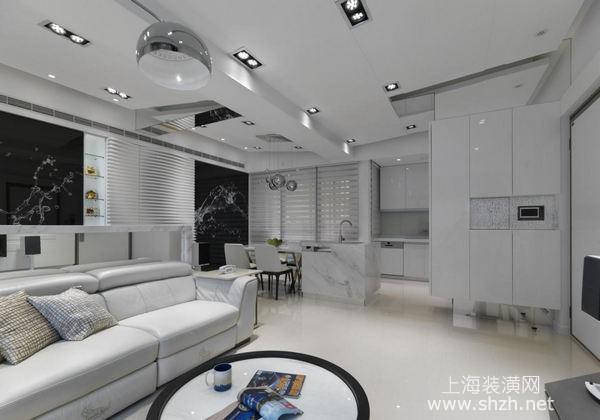 上海简约现代风格装修案例分享:山光水色美景融入生活