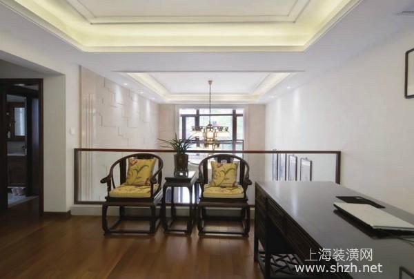 上海新中式风格装修案例:清雅含蓄 感受中式韵味
