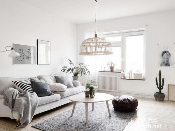 """现代简约风格装修案例:简约黑白灰 让你的家更出""""彩"""""""