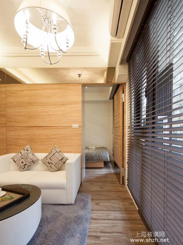 25平米北欧风格超小户型装修案例:善用每处空间放大小宅视野