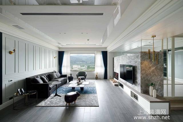 120平三室两厅现代简约风格设计,每一个空间都是风景
