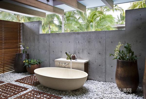 卫生间装修设计:灰色也可以让浴室呈现丰富多元样貌