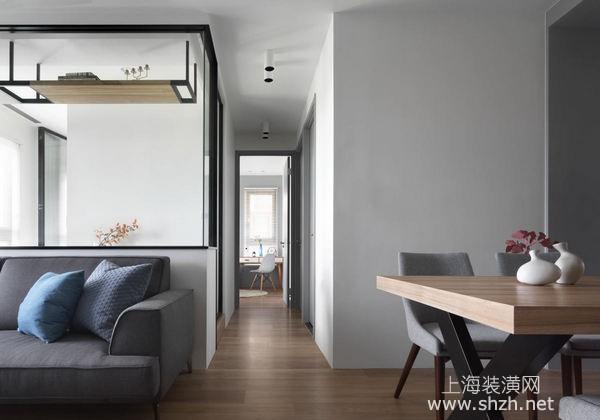 80平米三室一厅新房装修设计:复合功能设计让空间功能更完备