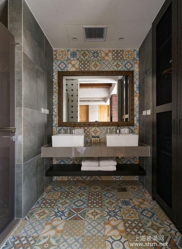 三套靈活運用花紋瓷磚打造文青質感空間的裝修案例分享