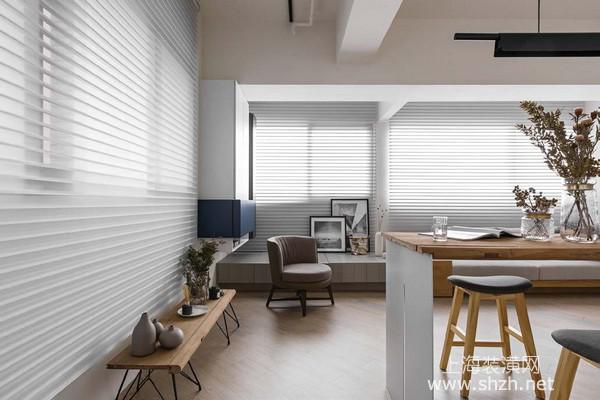 50平米老房改造:自由流畅动线让小户型如大宅般舒适自在