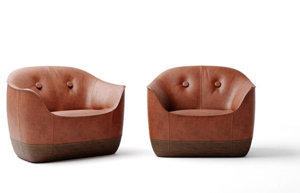 秋季装修,六款代表新生意象的土褐色雅致家具设计分享