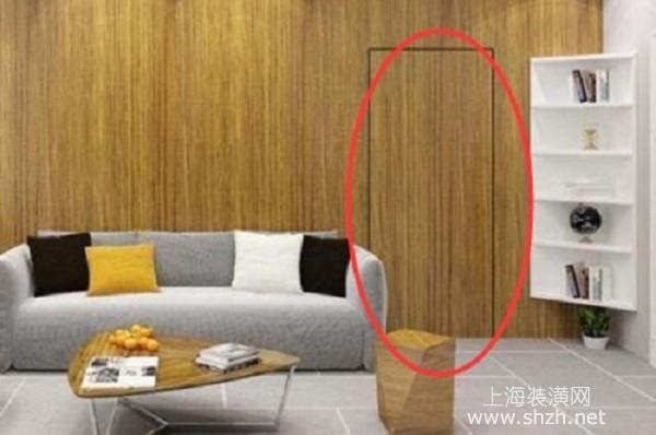 隐藏门怎么装修设计比较好?隐藏门装修设计须知