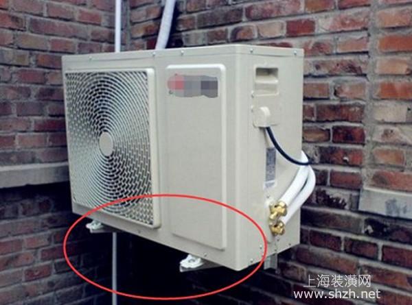 分体式空调安装知多少,为什么需要安装支架放空调外机