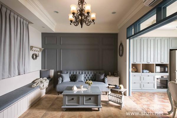 法式风格别墅装修设计:享受三代同堂亲情欢聚的美好