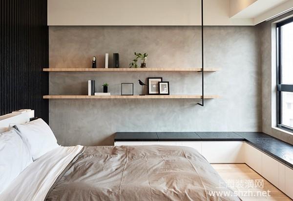 70平米两室一厅日式宅装修设计:循环回字型让空气更清新