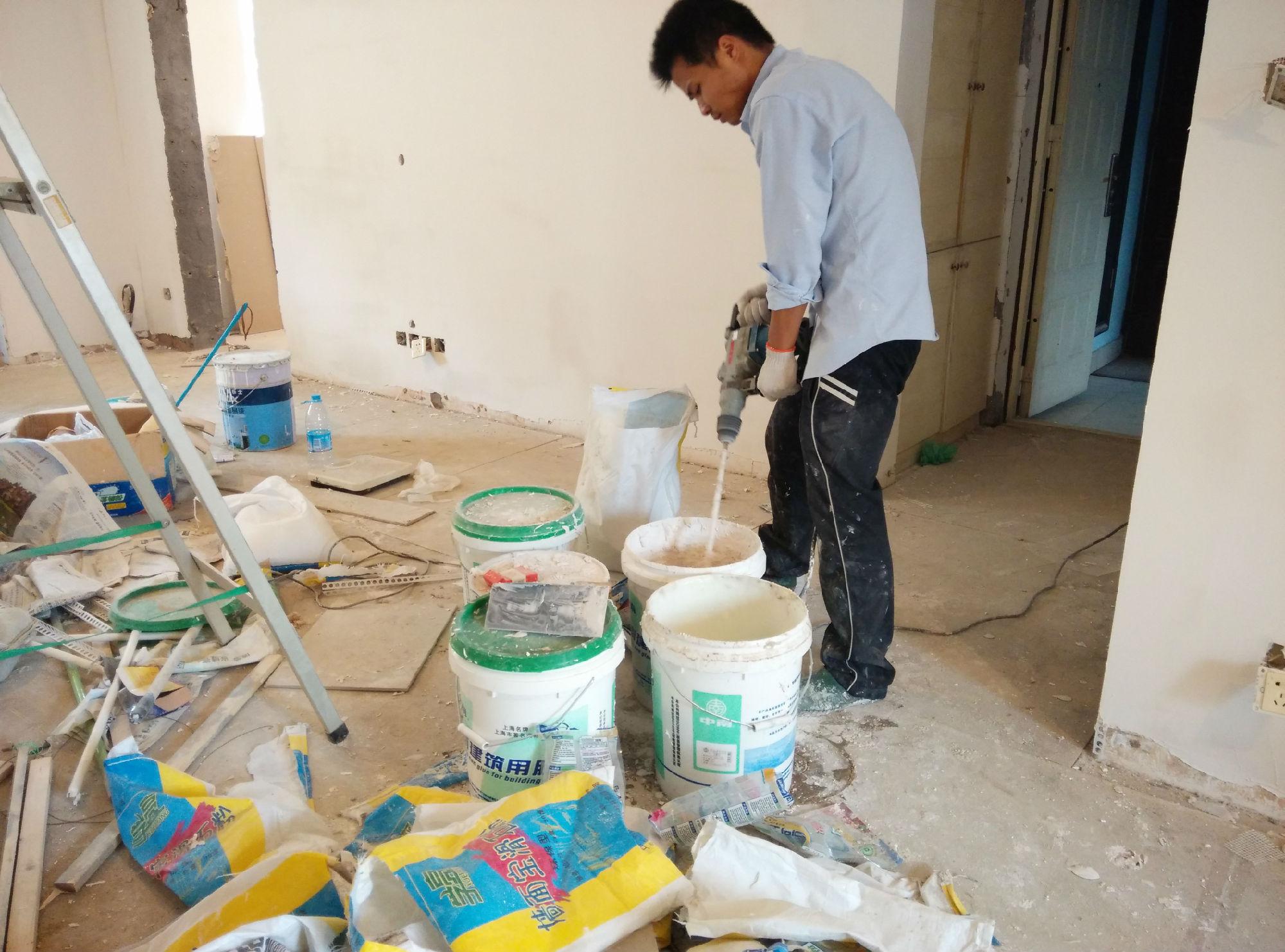 刮腻子标准施工工艺及质量检测-监理日记-上海装潢网