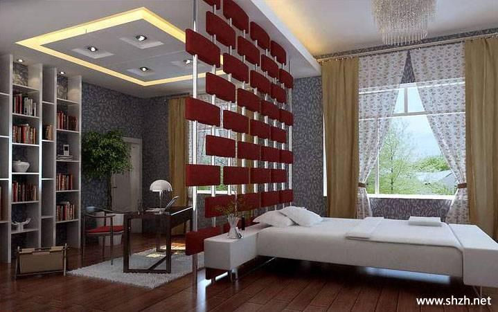 装修图库 现代风格  浏览数: 67 开放式的设计,客厅及卧室仅用造型图片